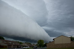 Wall cloud stock photo