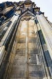 Wall of Cologne Cathedral. Travel to Germany - wall of Cologne Cathedral Stock Image