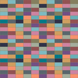 The wall of colored bricks. Royalty Free Stock Photo
