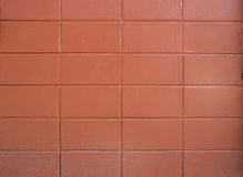Wall of colourful orange Royalty Free Stock Photos