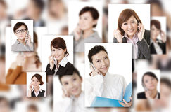 Wall of communication stock images