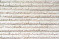 Wall consisting of white stones royalty free stock photos