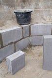 Wall Construction - 09 Stock Photo