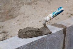 Wall Construction - 10 Stock Image