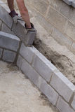 Wall Construction Stock Images