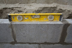 Wall Construction Stock Photography