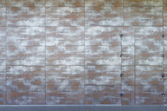Wall covered with boards Stock Photos