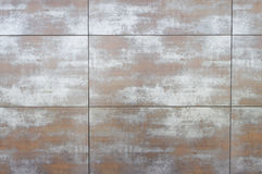 Wall covered with boards Royalty Free Stock Images