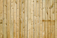Wall covered with boards - wooden background Stock Photos