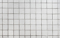 Wall covered with gray tile Royalty Free Stock Image