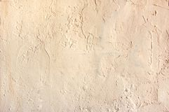 Wall covered with plaster Stock Photography