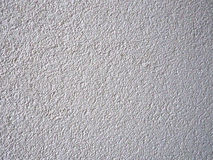 Wall covered with putty Stock Photo