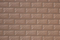 Wall covered with rectangular tiles Stock Photography