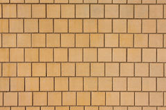 Wall covered with tiles Royalty Free Stock Photo