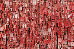 Wall covered with wish cards in Buddhist temple in Beijing, China Royalty Free Stock Photography