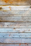 Wall covered with wooden planks Stock Images