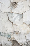 Wall crack texture Stock Photography
