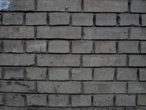 Wall, crack on the wall, brick Stock Photos
