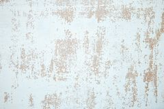 Wall with cracked paint background. Vintage background and wallpaper with space for text or image.  stock photos