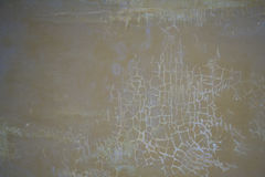 Wall with cracked stucco Royalty Free Stock Photos