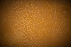 Wall with cracked stucco Royalty Free Stock Photography
