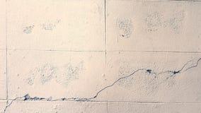 Wall cracking Stock Photos