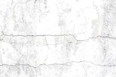 Wall with cracks Stock Photo