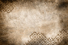 Wall with cracks and rhombus. Grunge wall with cracks and rhombus Royalty Free Stock Photos