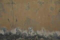 Wall with cracks and scratches royalty free stock photos