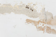 Wall with crumbling plaster Stock Image