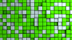 Wall of cubes Stock Photos