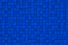 Wall of  cubes. Abstract background. 3d render Royalty Free Stock Photography