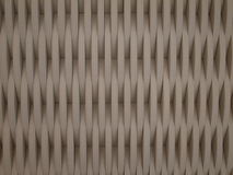 A wall with curves details. A wall 3D curves Stock Photo