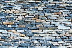 Wall of cut stone Royalty Free Stock Photos