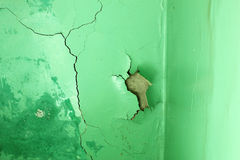 Wall damage Royalty Free Stock Images