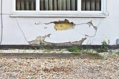 Wall damage Royalty Free Stock Image