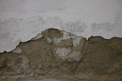 Wall damaged by humidity stock photo