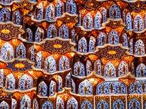 Wall decor in Samarkand. Royalty Free Stock Photo