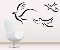 Wall decoration Stock Photography