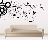 Wall decoration Stock Images
