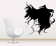 Wall decoration sticker Royalty Free Stock Photo