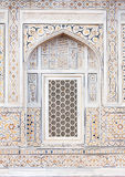 Wall decoration at the Tomb of I timad ud Daulah in Agra, Uttar Royalty Free Stock Photo