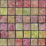Background decoration- wall tiles Stock Photos