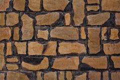 Wall of decorative stone Stock Photo