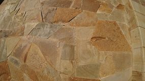 Texture of decorative stone on the wall royalty free stock photos