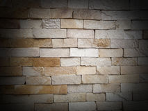 Wall from a decorative stone. Texture suitable Stock Images