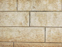 Wall of decorative tiles Royalty Free Stock Photo