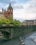 Wall in Derry, Nordirland lizenzfreie stockbilder
