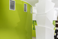 Wall design. Interior wall design and decoration Royalty Free Stock Photos