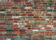Wall detail. Brick wall texture stock images